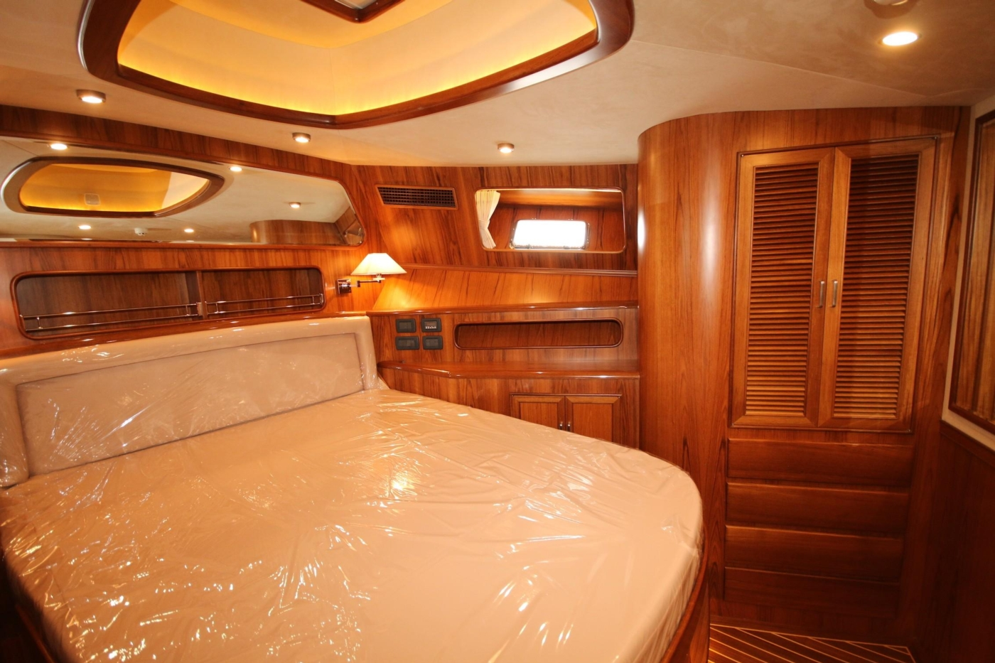2020 Fleming 65 Pilothouse In Stock, VIP Starboard View