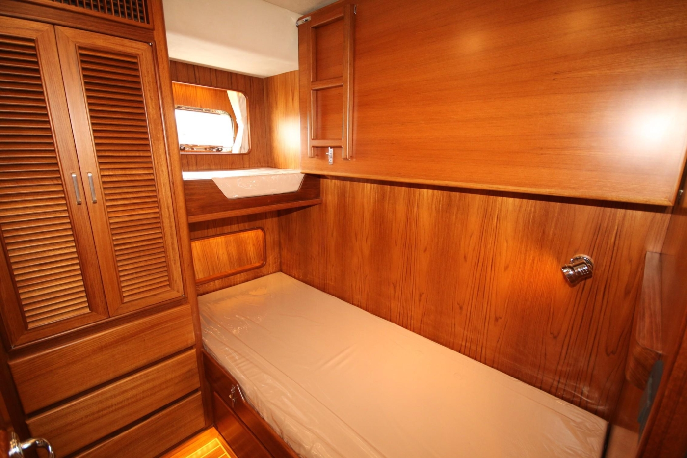 2020 Fleming 65 Pilothouse In Stock, Guest Cabin with Pullman