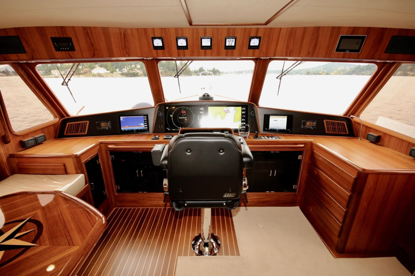 2020 Fleming 65 Pilothouse In Stock, Pilothouse