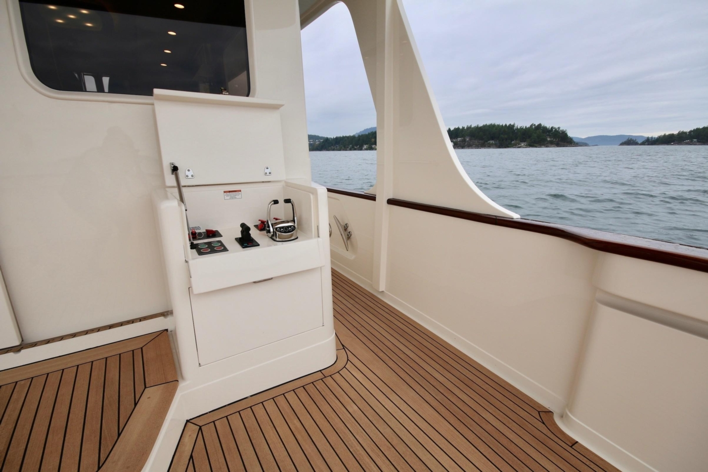 2020 Fleming 65 Pilothouse In Stock, Cockpit Controls