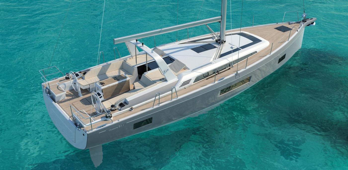 2021 Beneteau Oceanis 51.1, Manufacturer Provided Image: Manufacturer Provided Image