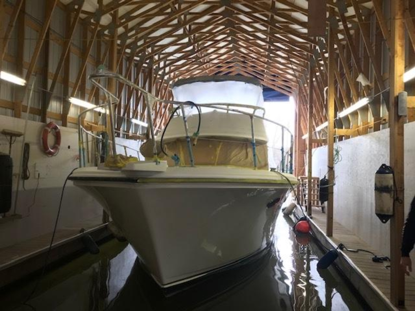 2008 Custom 60 Boathouse,