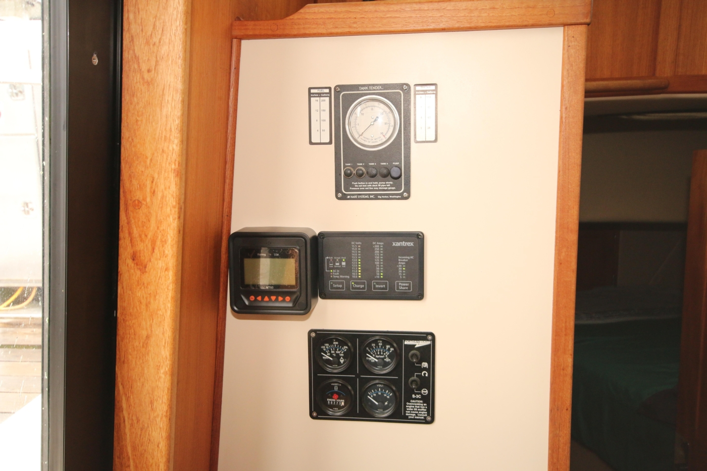 1999 Nordic Tugs 32, Solar, Inverter, Genset Controls