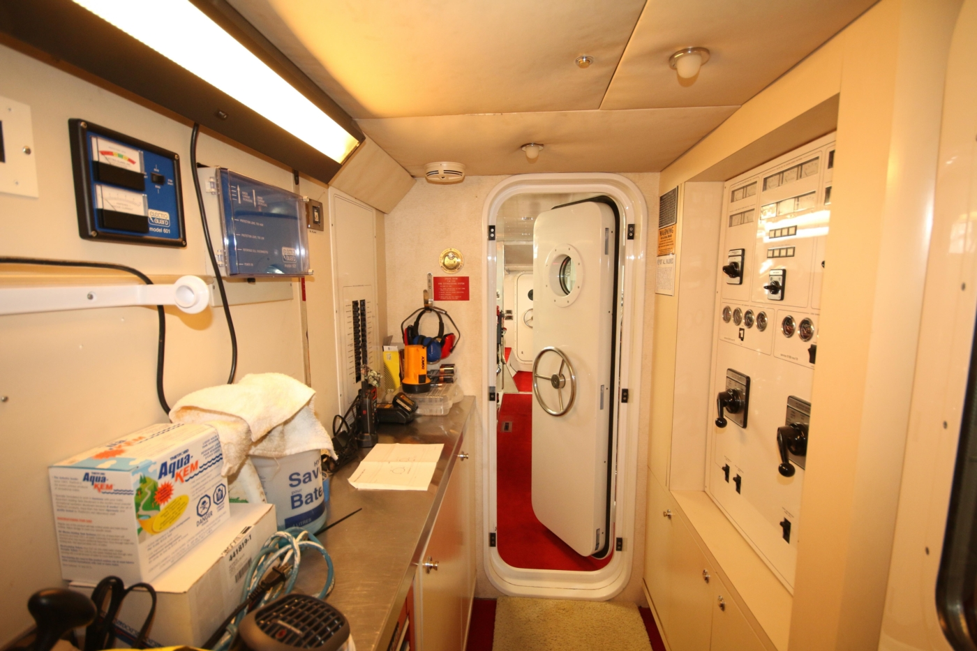 1997 Nordlund Motoryacht, Electrical Room