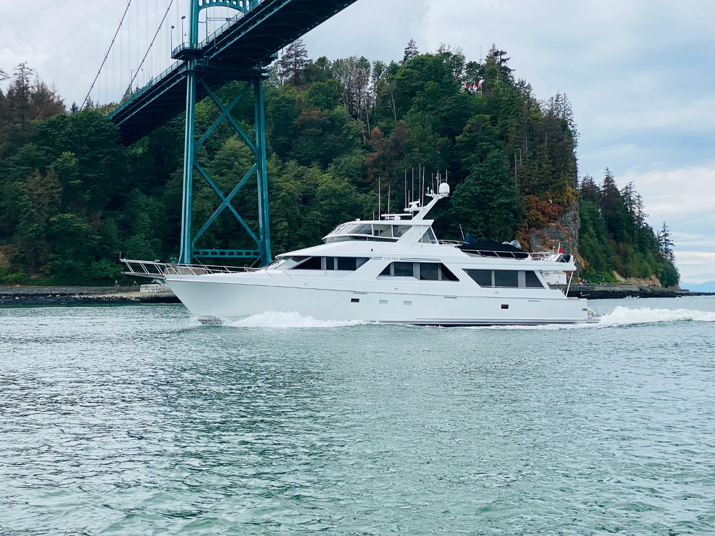 1997 Nordlund Motoryacht, In Vancouver Harbour