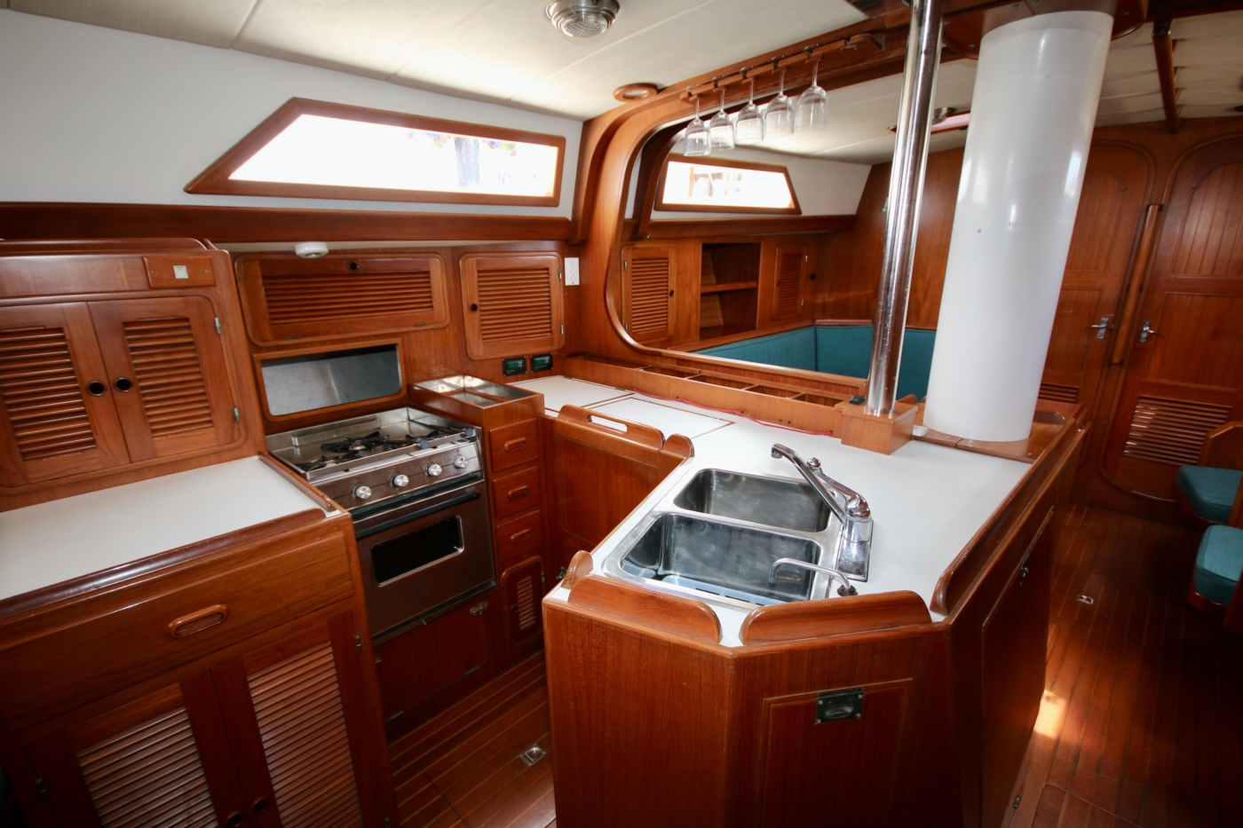 1996 Tanton 45 Offshore, Galley