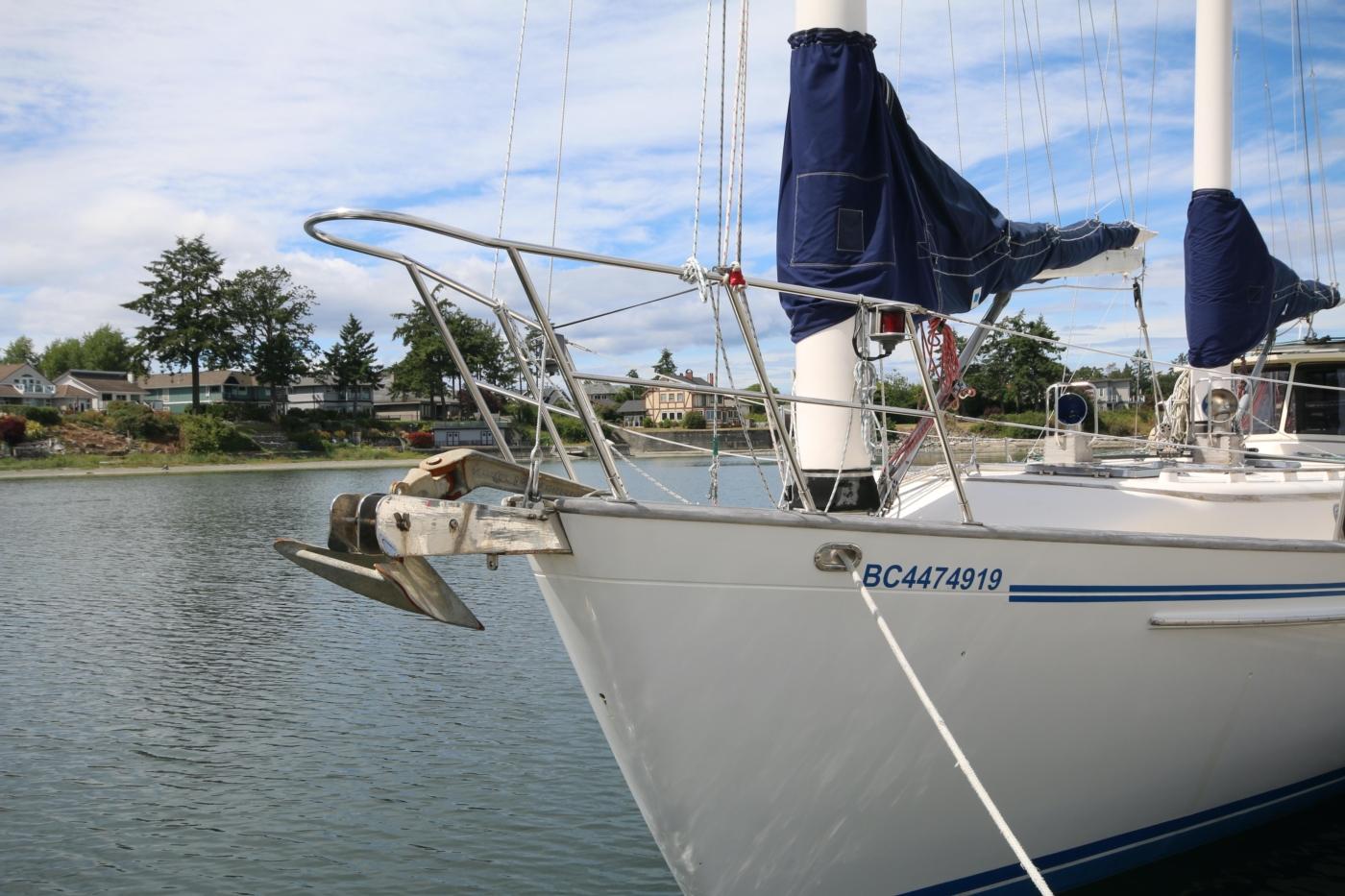 1996 Tanton 45 Offshore, Bow