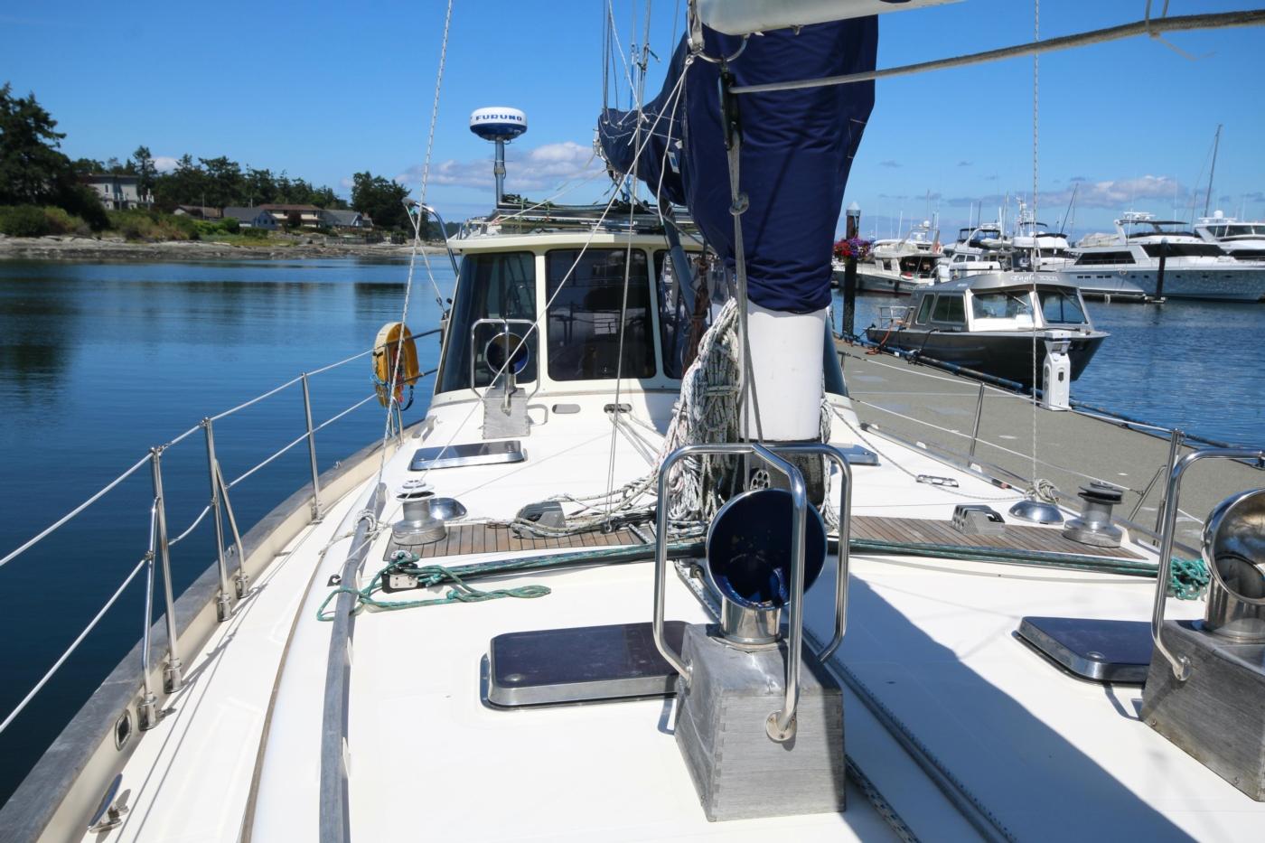 1996 Tanton 45 Offshore, View aft