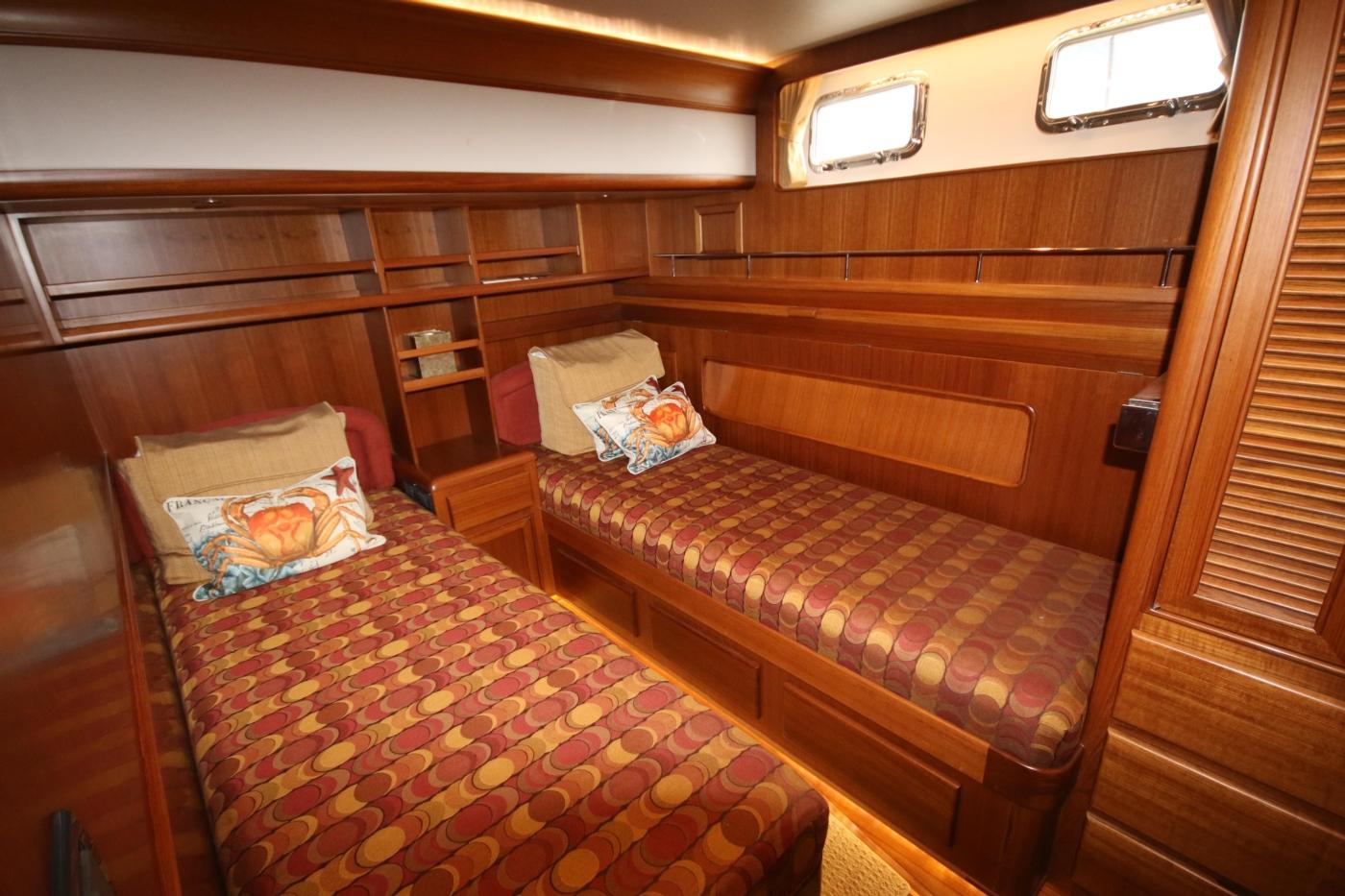 2015 Fleming 58 Pilothouse, Port Guest cabin