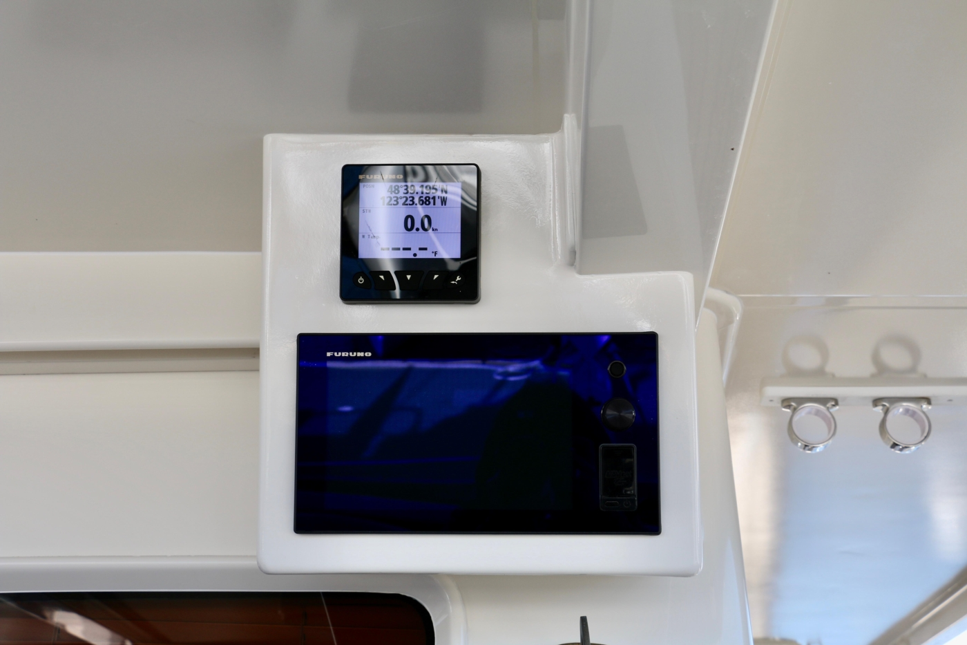2015 Fleming 58 Pilothouse, Chartplotter & multi monitor