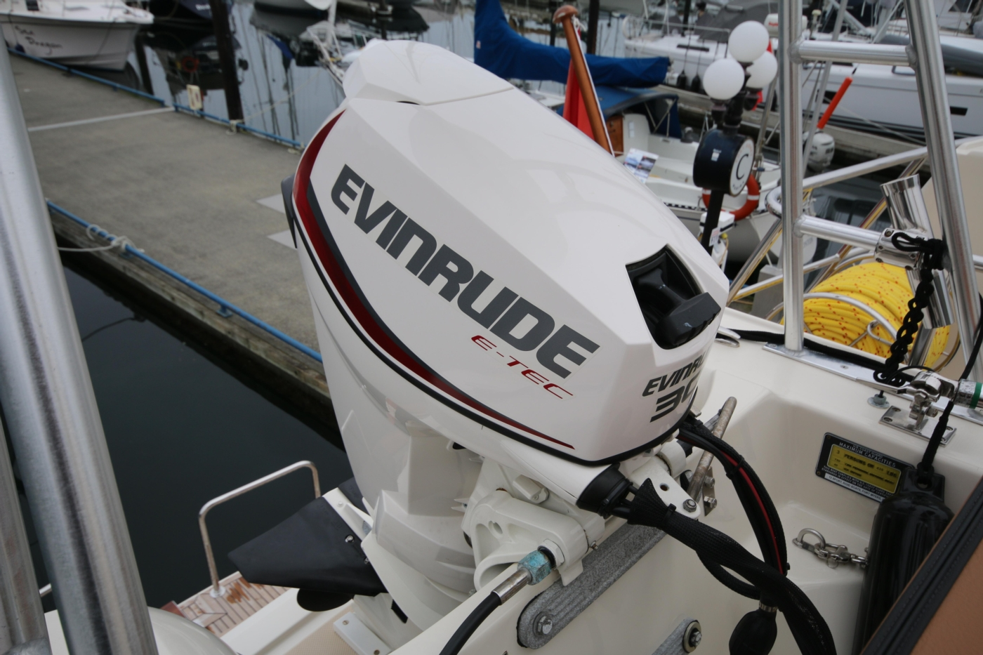 2015 Fleming 58 Pilothouse, 30hp outboard