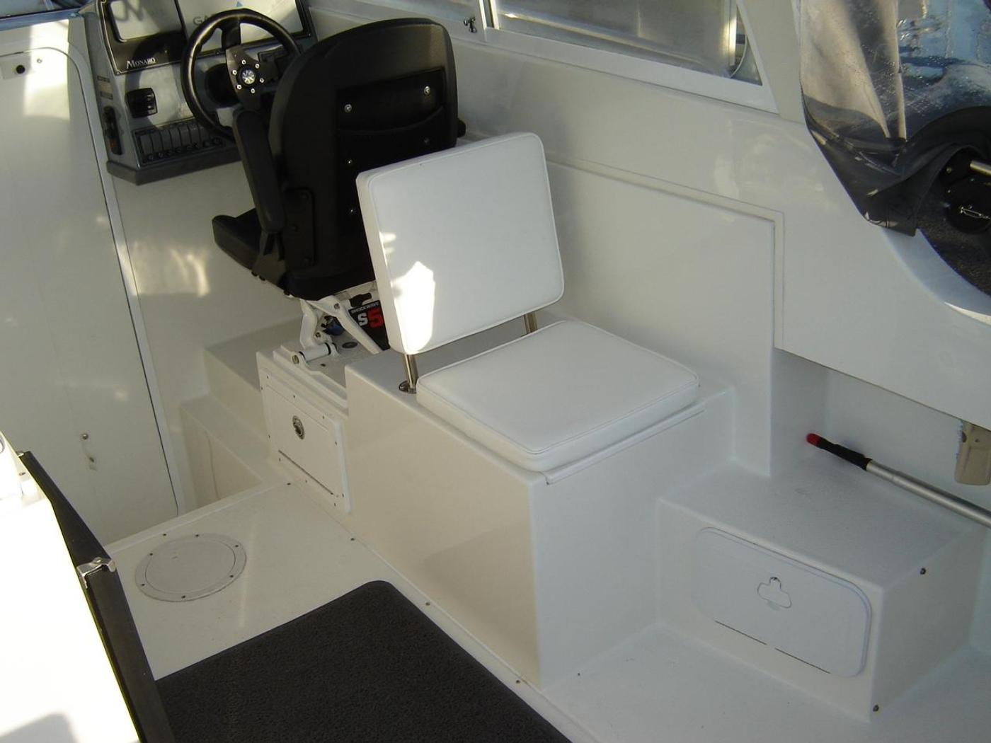 2019 Monaro 235 Sport, Aft Facing Seat with Storage Below