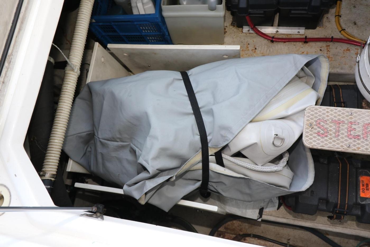 1999 Bayliner 5788 Pilot House Motoryacht, Yachtub Stowed