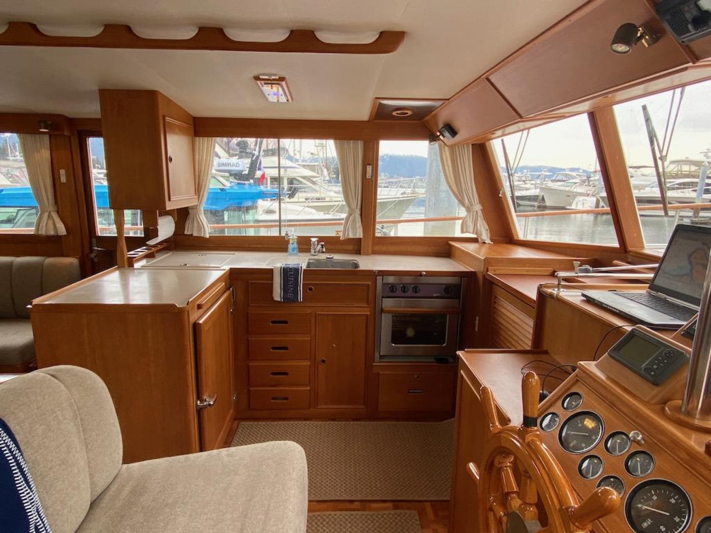1998 Grand Banks 42 Classic, Galley 1