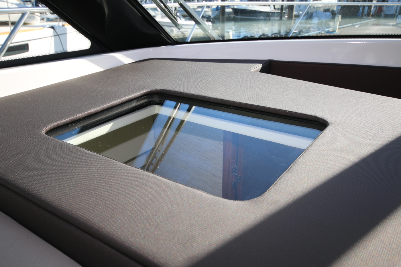 2018 Tiara Yachts 39 Coupe, Skylight to 2nd cabin