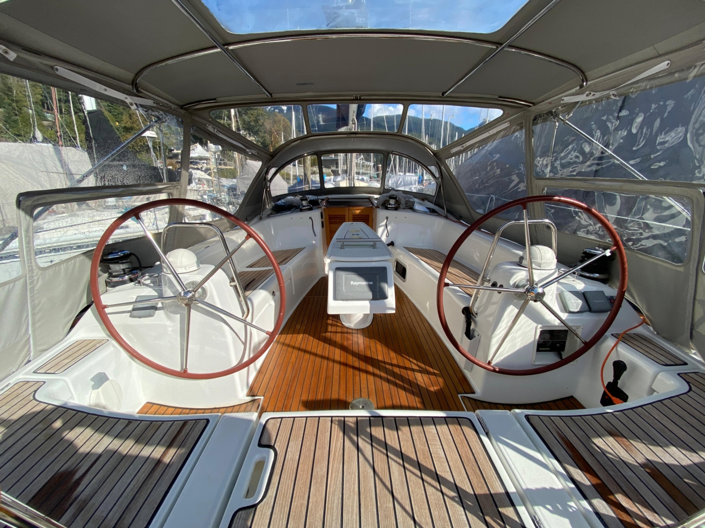 2010 Beneteau Oceanis 40, Cockpit Looking Forward
