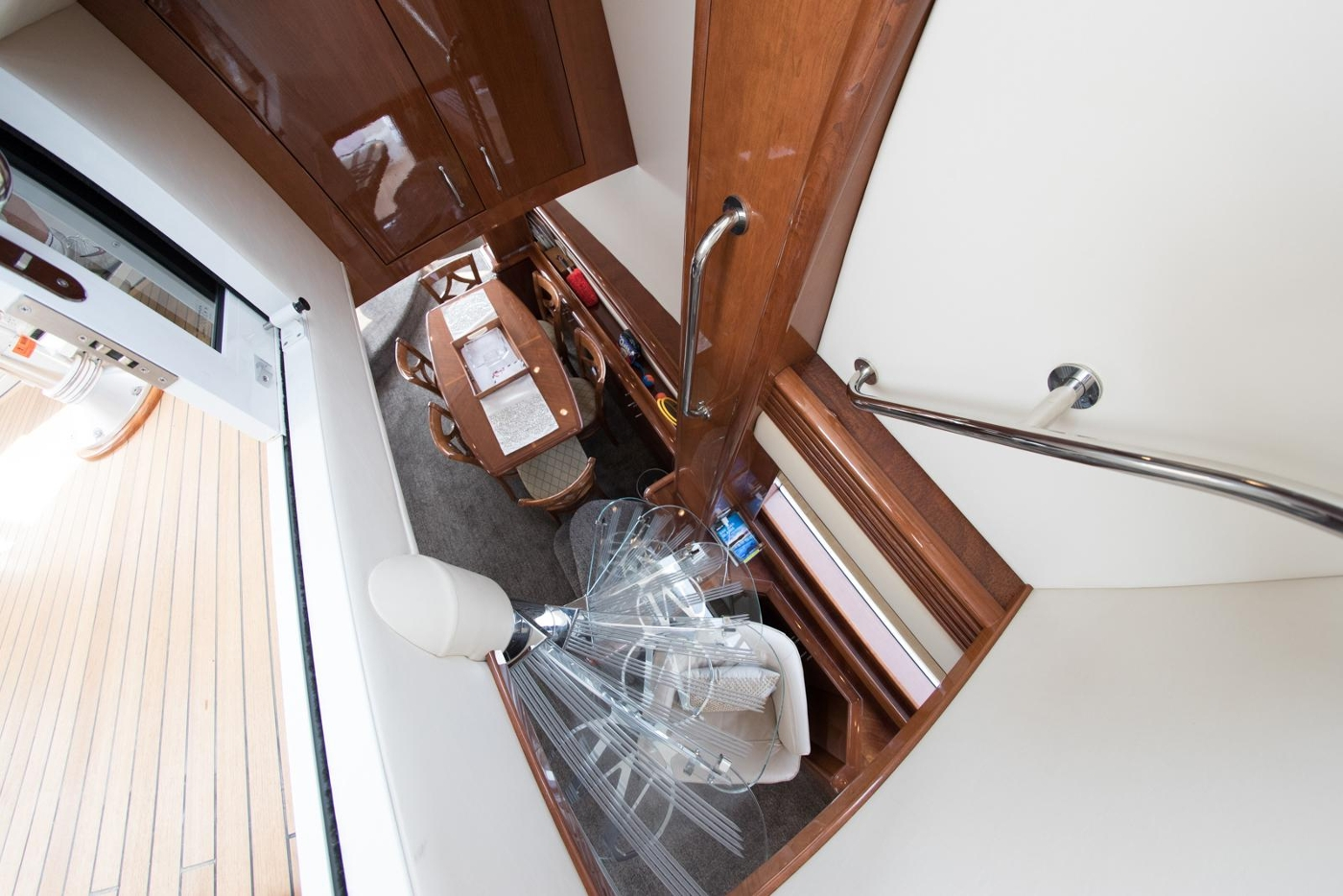 2006 Marquis Motor Yacht, View from Flybridge