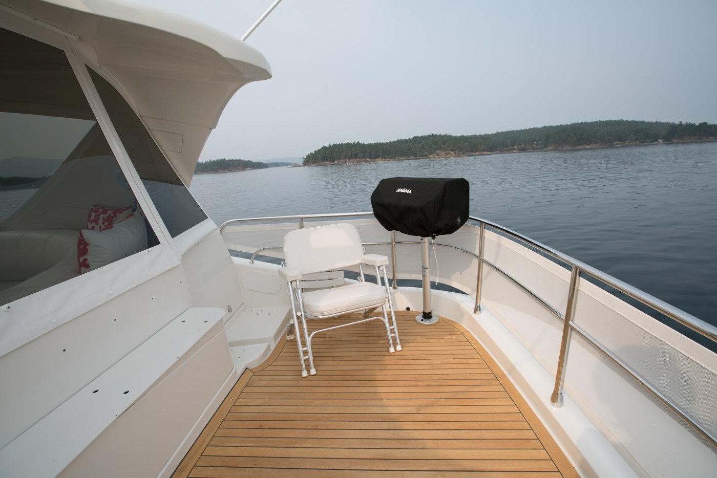 2006 Marquis Motor Yacht, Aft F/B deck