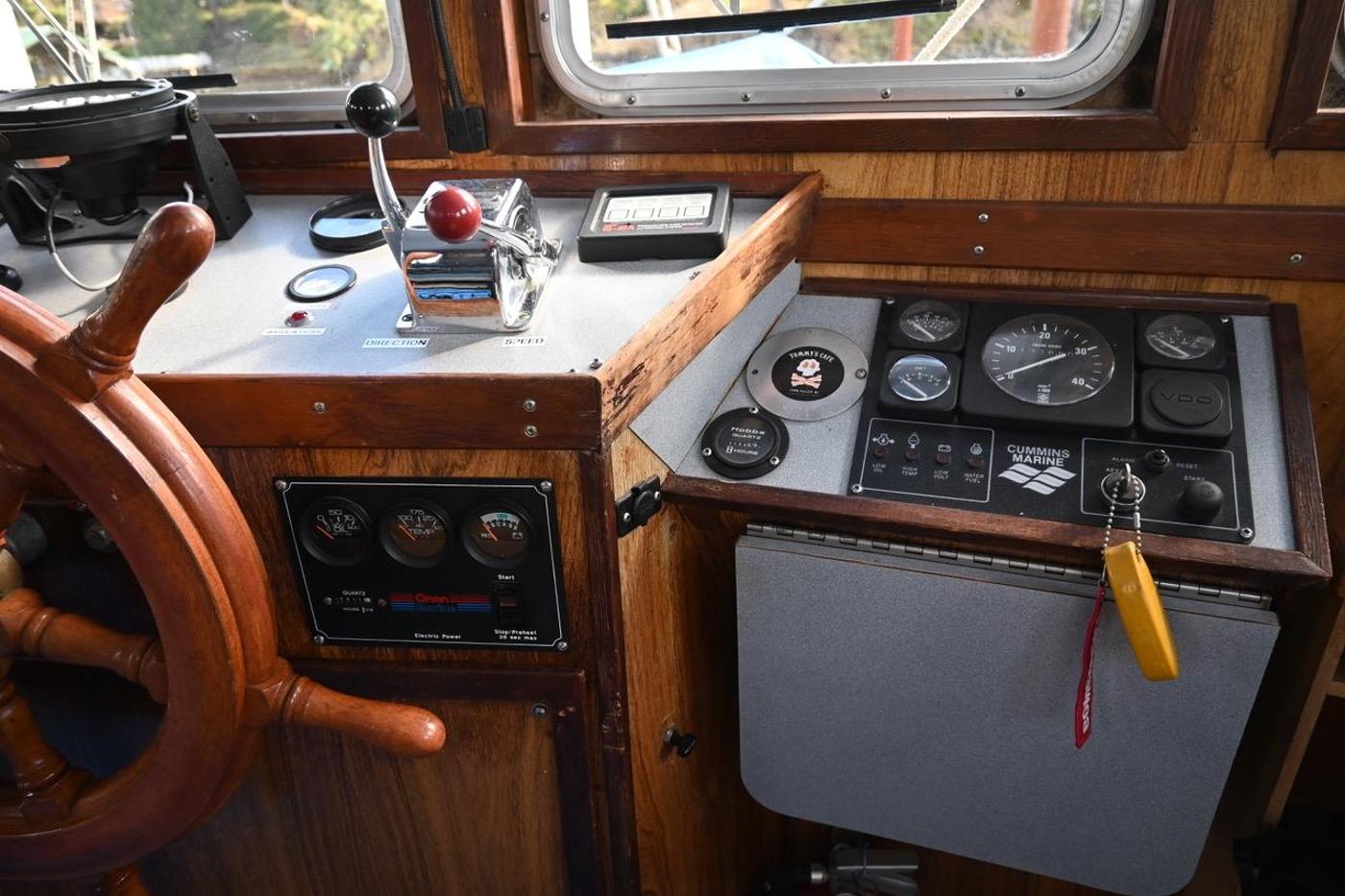 1975 Custom Trawler,