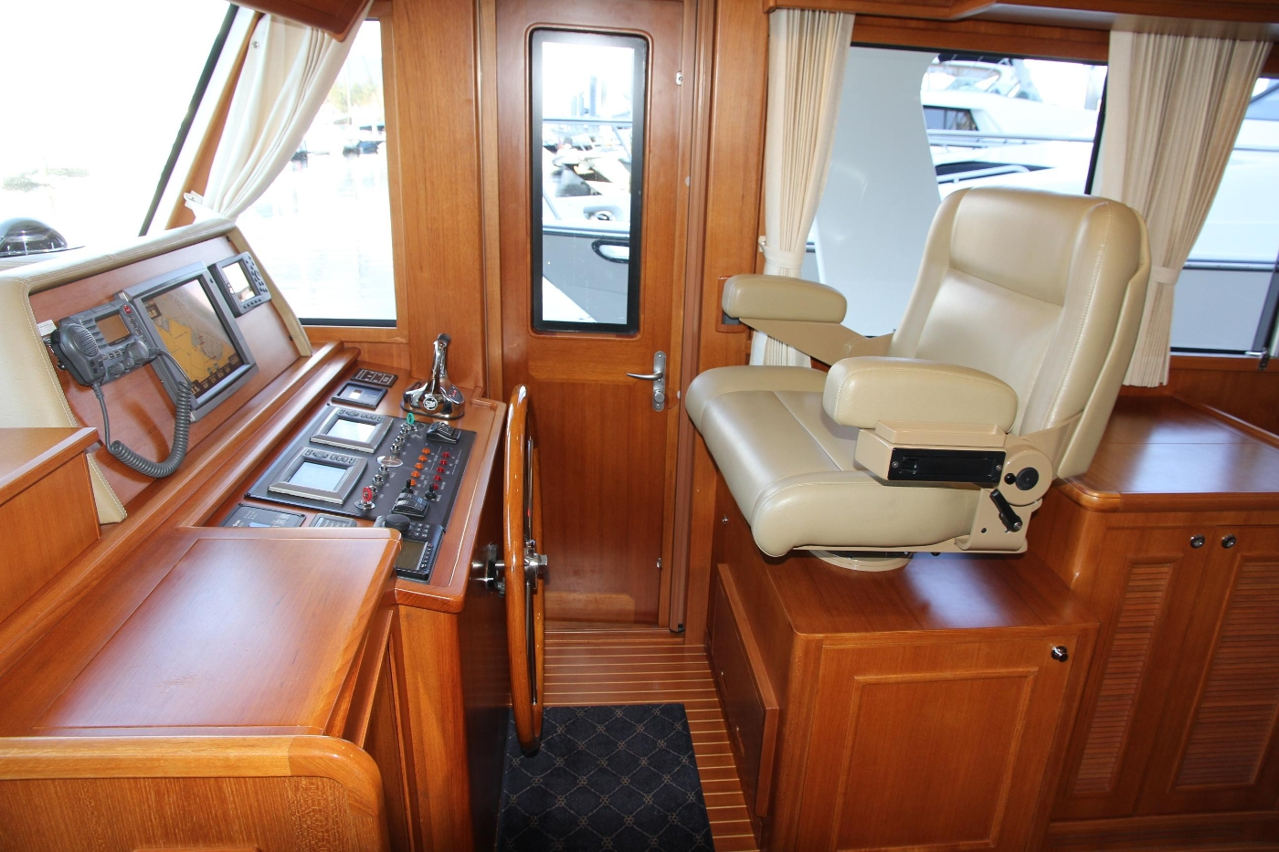 2009 Grand Banks 47 Europa, Starboard Helm