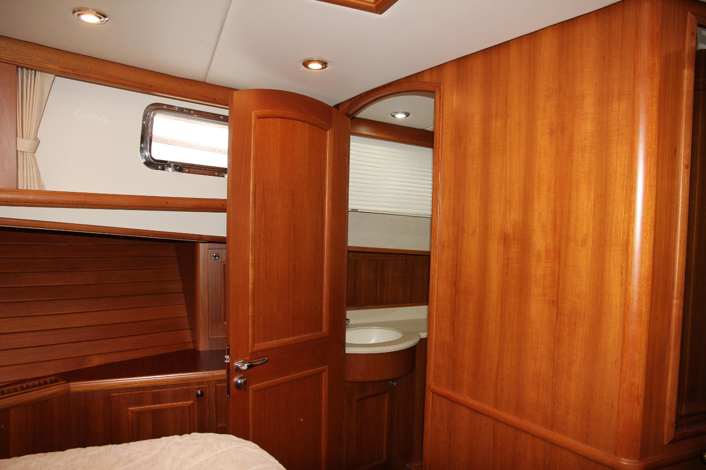 2009 Grand Banks 47 Europa, Master Cabin Starboard