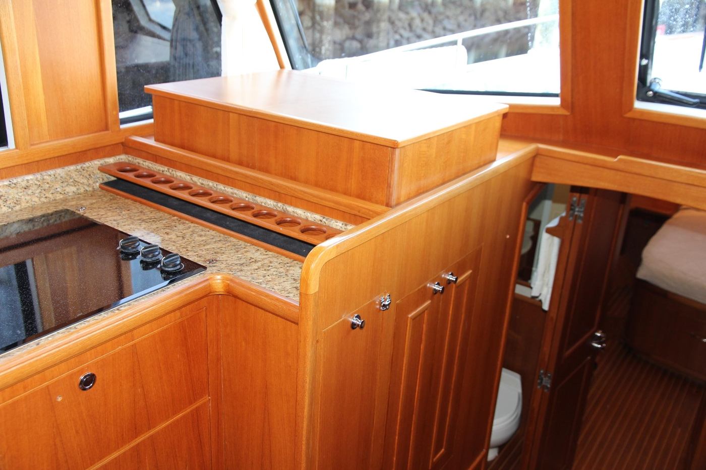 2009 Grand Banks 47 Europa, Spice Rack