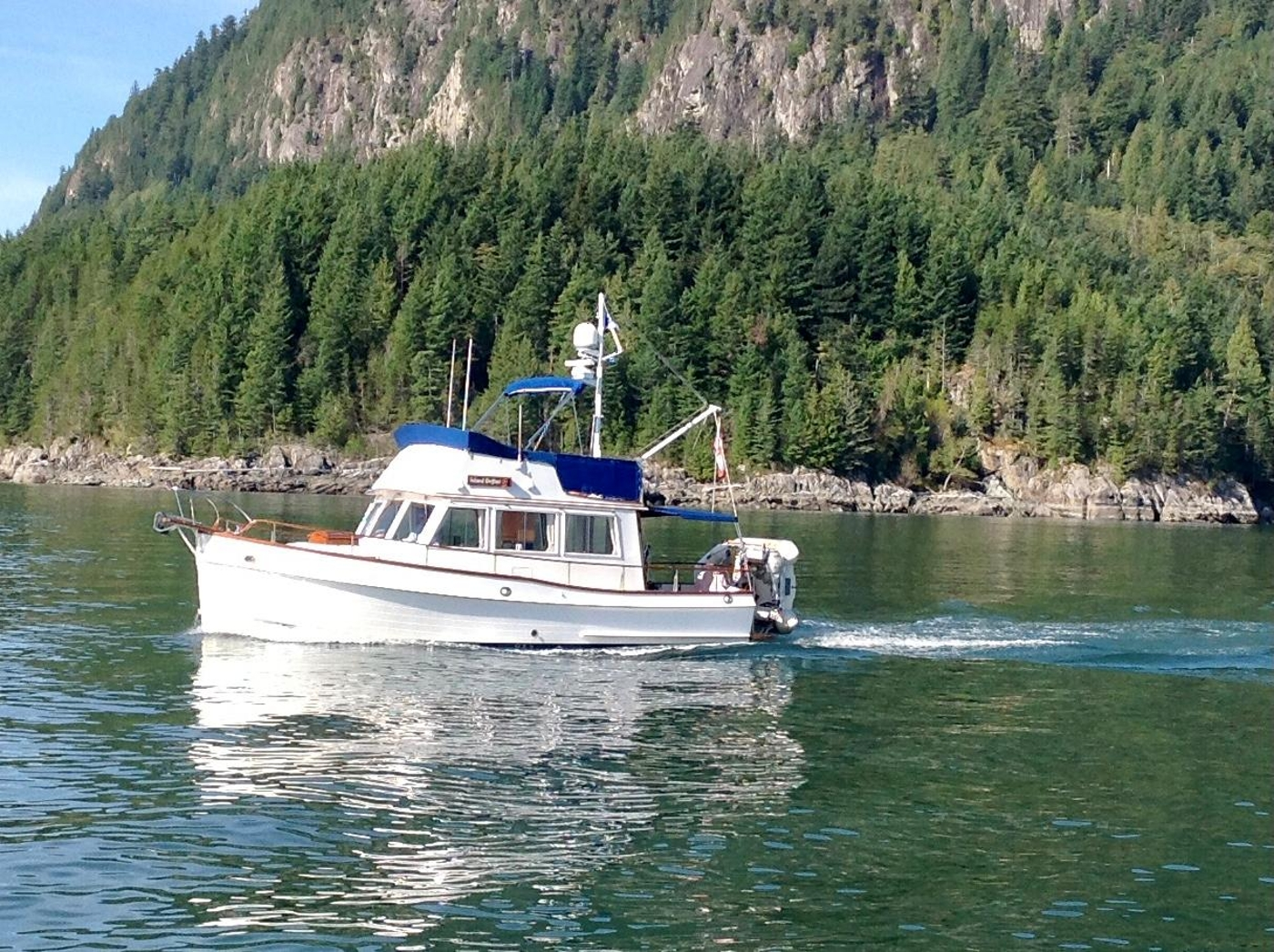 1988 Grand Banks 32, Underway to a new Adventure