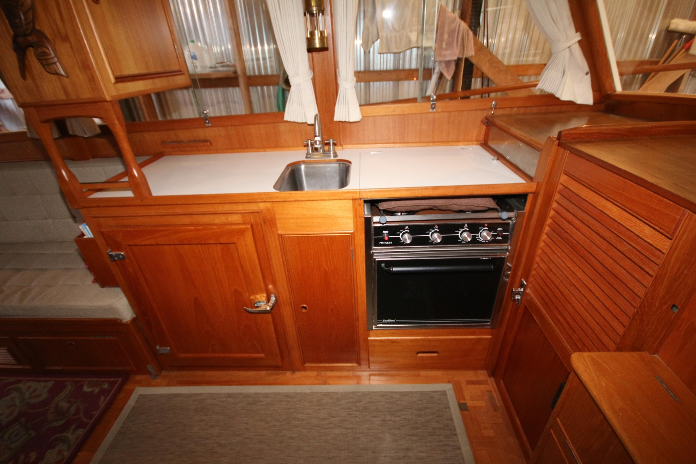 1988 Grand Banks 32, Galley Space to Portside
