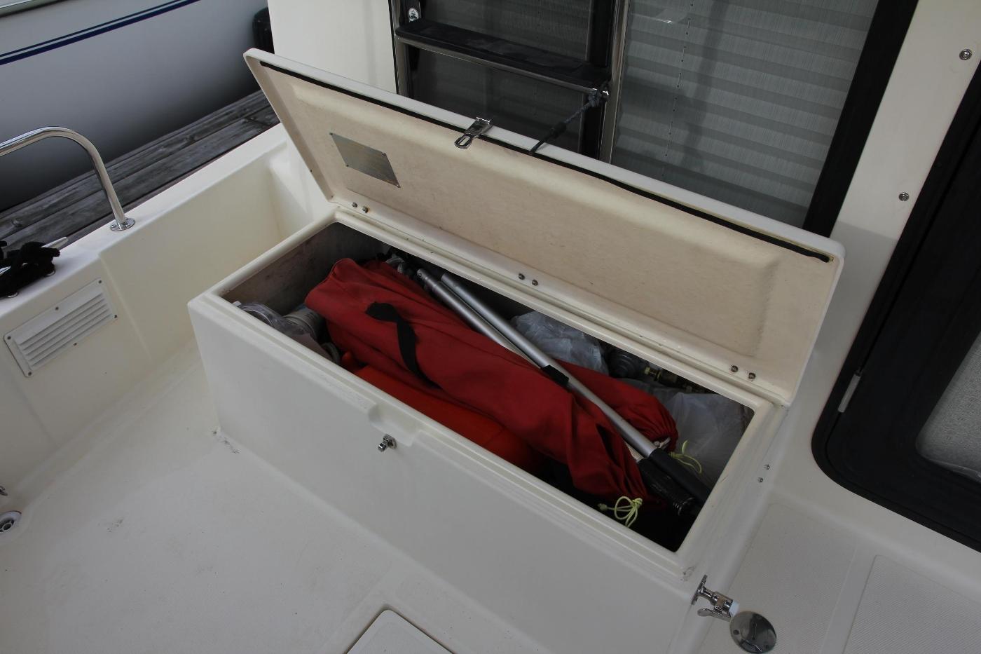 2001 Nordic Tugs 32 Pilothouse, Cockpit Storage Locker