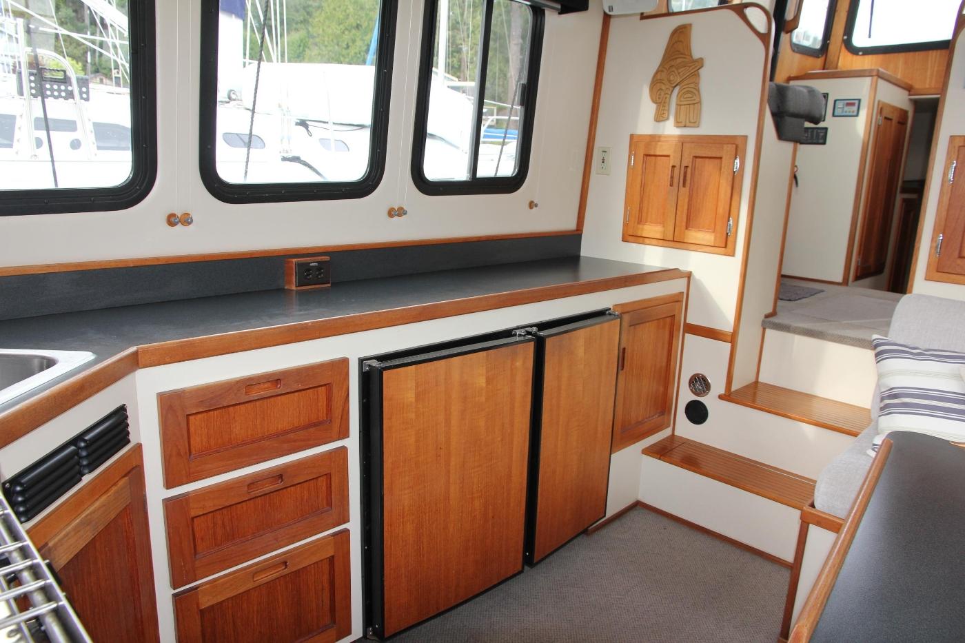 2001 Nordic Tugs 32 Pilothouse, Portside Galley