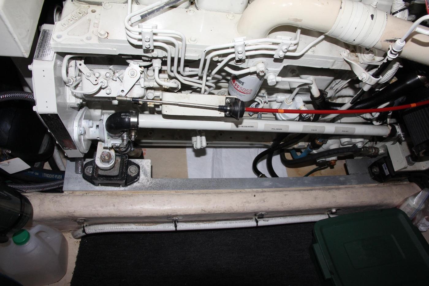 2001 Nordic Tugs 32 Pilothouse, Portside Engine