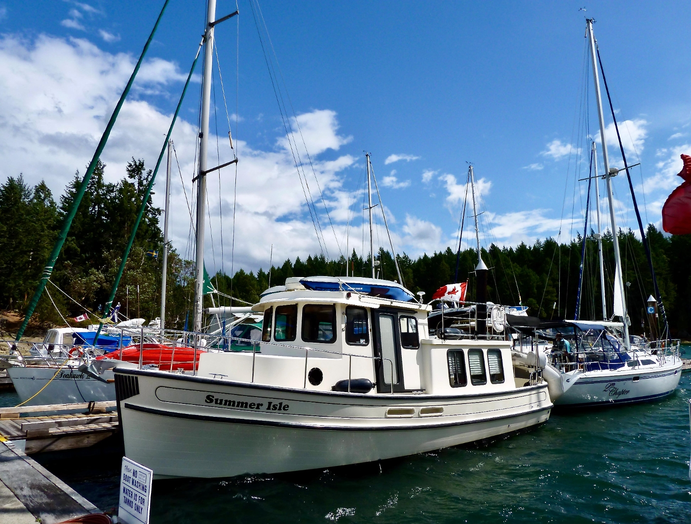 2001 Nordic Tugs 32 Pilothouse, Telegraph Harbour, Gulf Islands