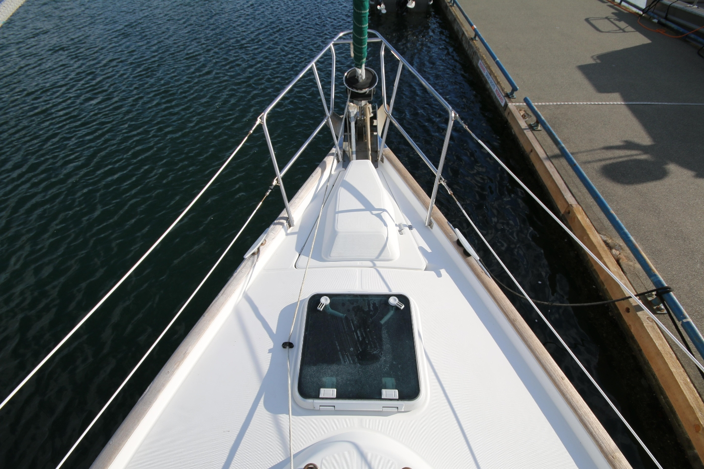 1997 Beneteau Oceanis 461, Anchor & Bow locker