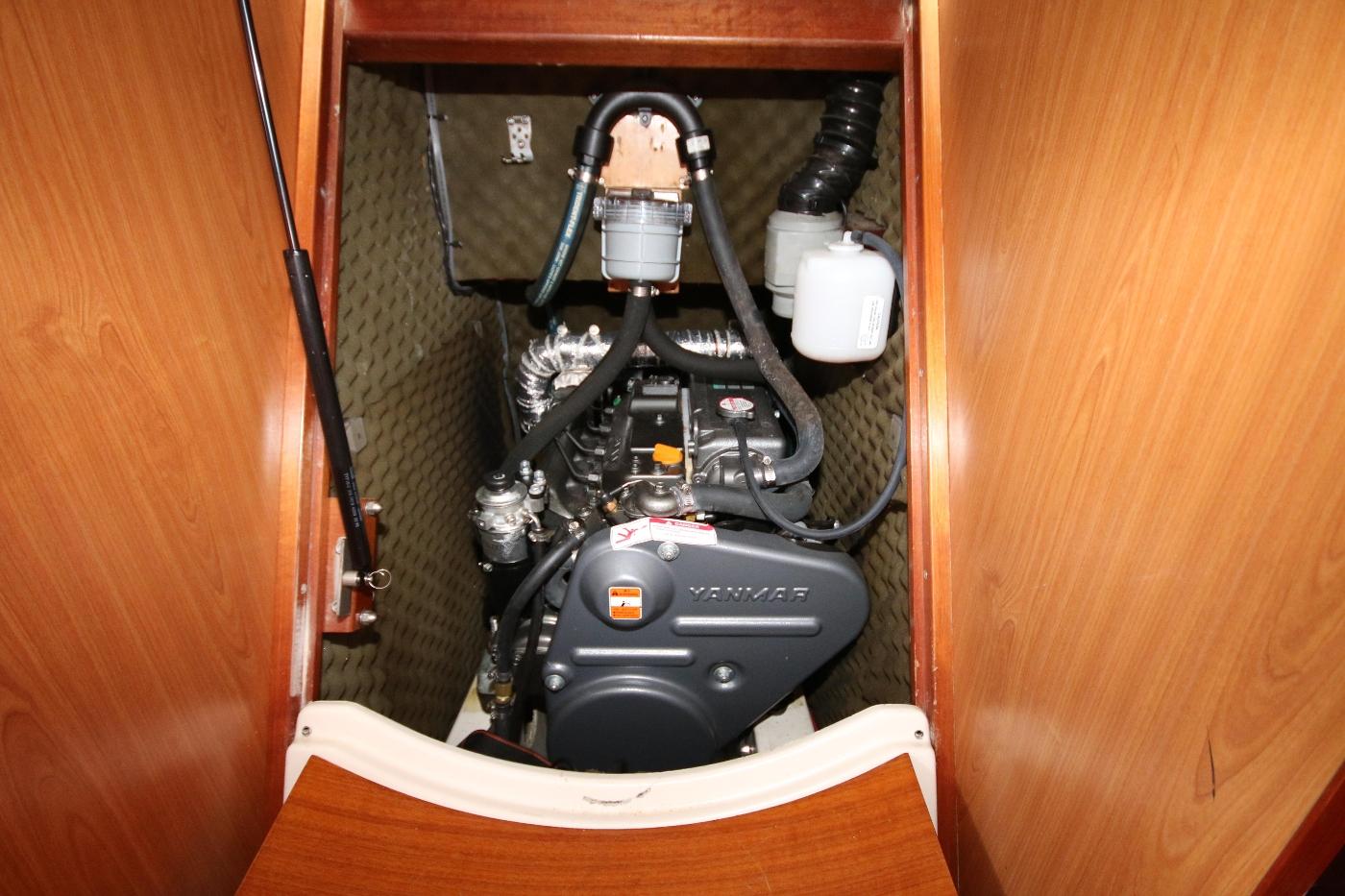 1997 Beneteau Oceanis 461, Yanmar engine