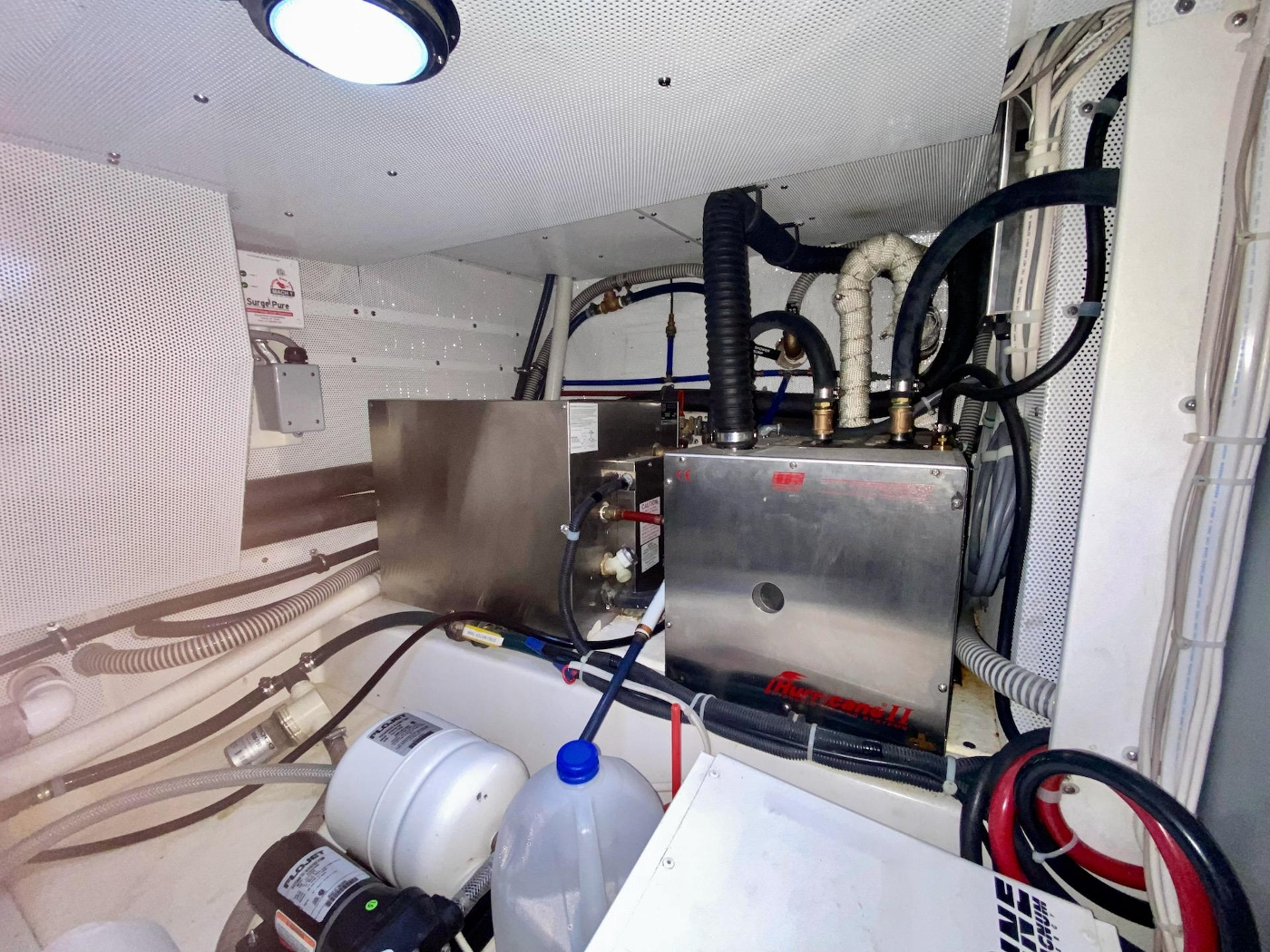 2010 Bracewell 41, Machinery Space Detail 1