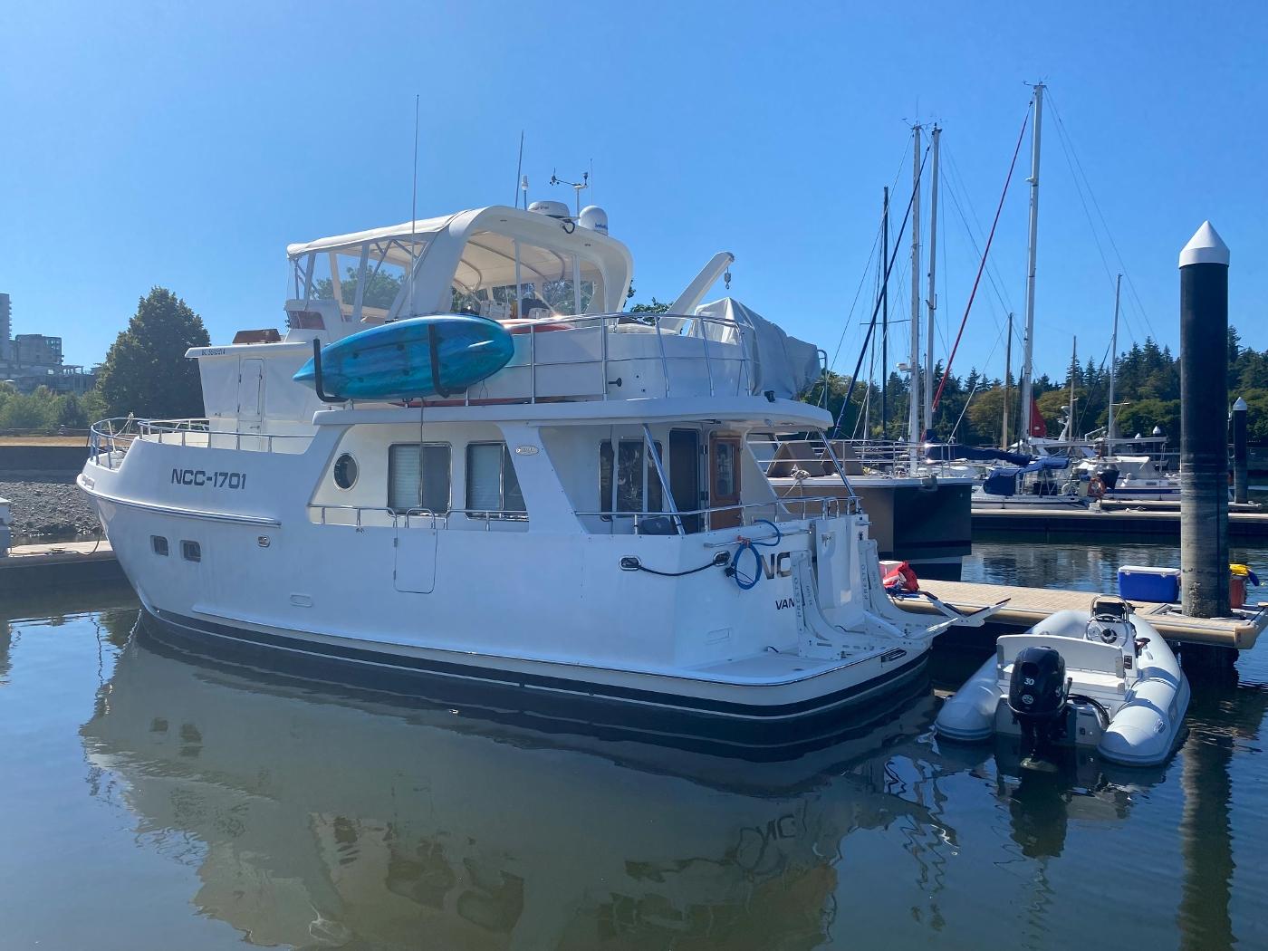 2011 Selene 45, At the dock