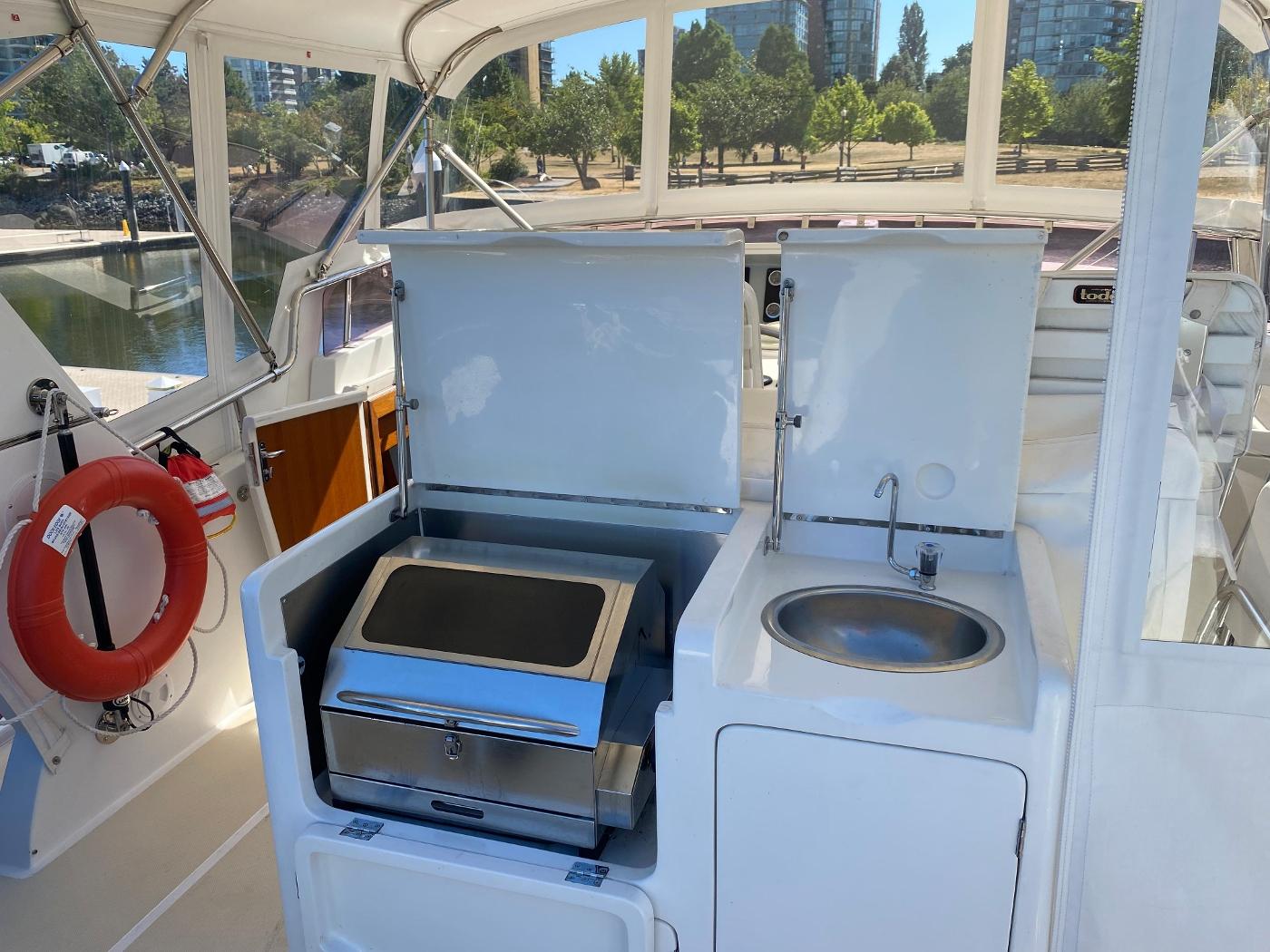 2011 Selene 45, Summer galley