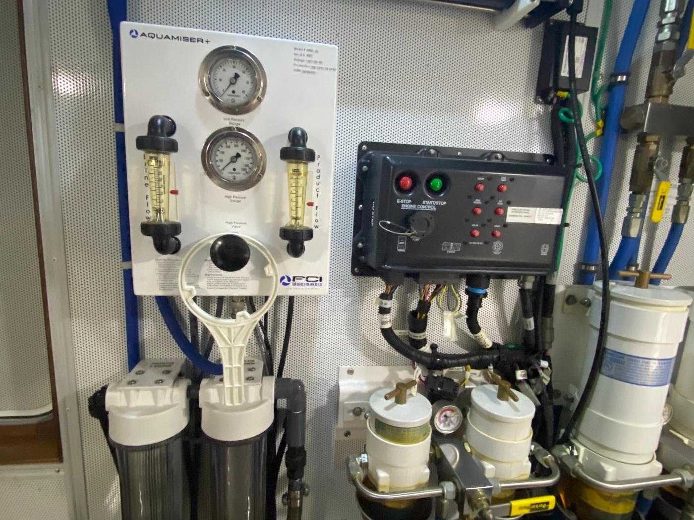 2011 Selene 45, Engine room