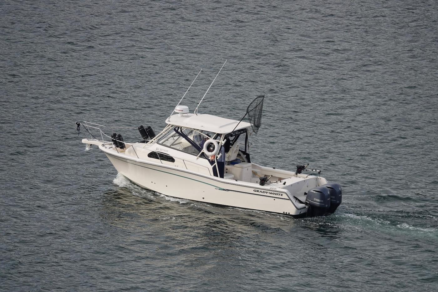 2017 Grady-White Marlin 300,
