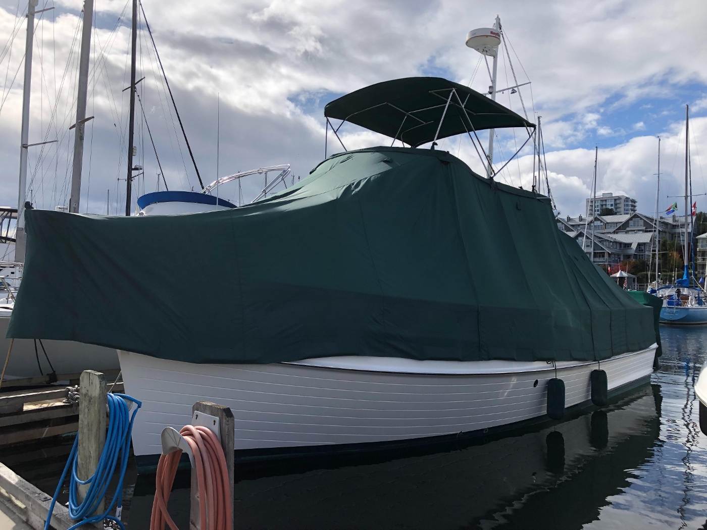 1995 Grand Banks 36 Classic, Winter Cover