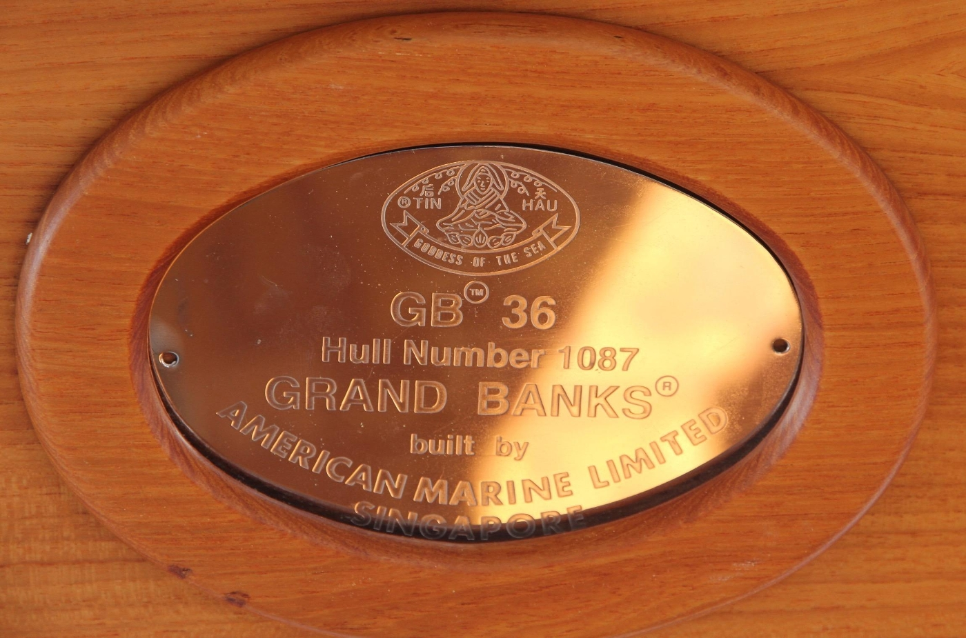 1995 Grand Banks 36 Classic, Hull Number