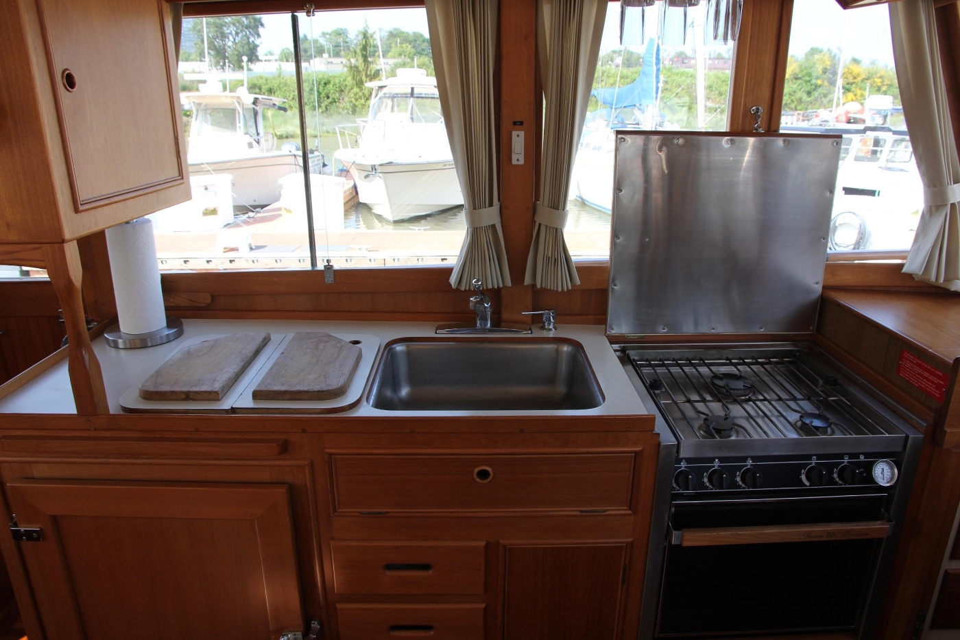 1995 Grand Banks 36 Classic, Galley