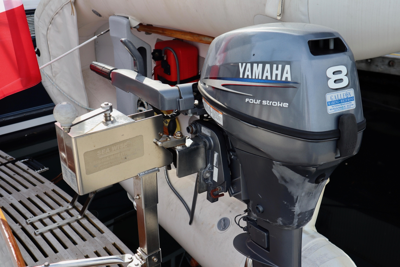 1995 Grand Banks 36 Classic, Outboard