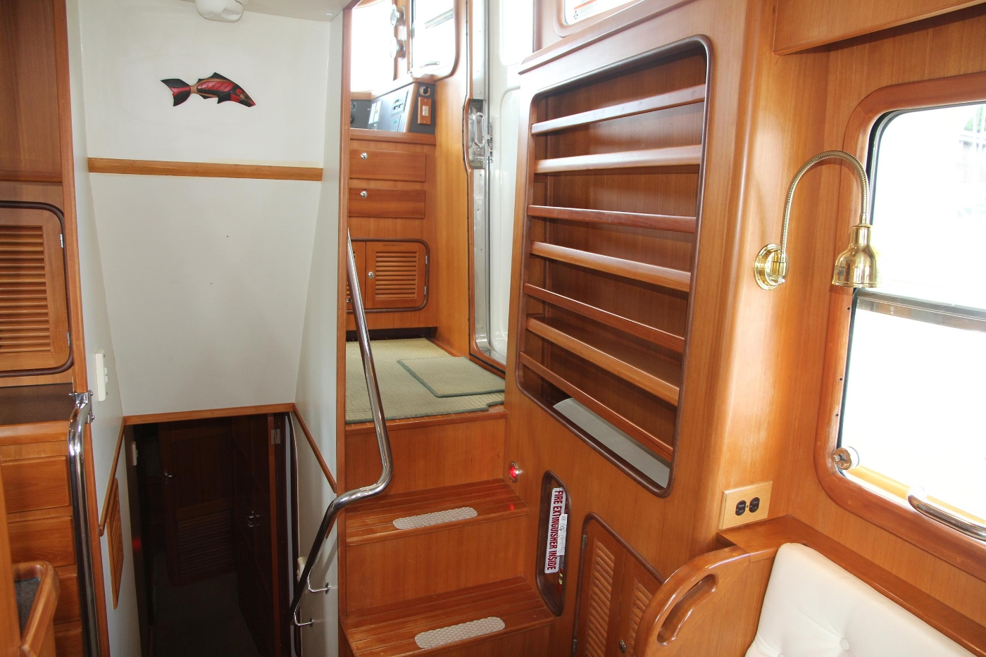 2000 Nordhavn Pilothouse, Compainway and Storage