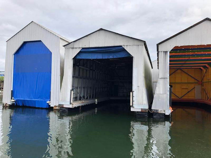 Lynnwood Marina Slip Exterior
