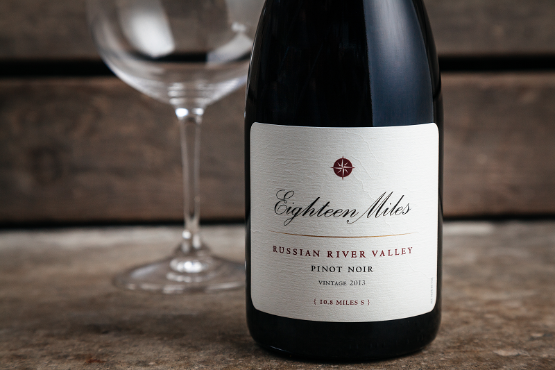 2013 Pinot Noir Eighteen Miles
