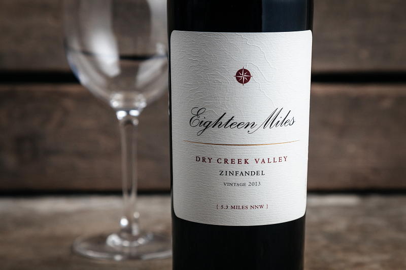 2013 Zinfandel Eighteen Miles