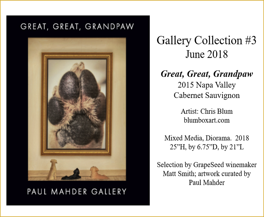 2015 Gallery Collection #3, Great-Great Grand Paw, Cabernet Sauvignon