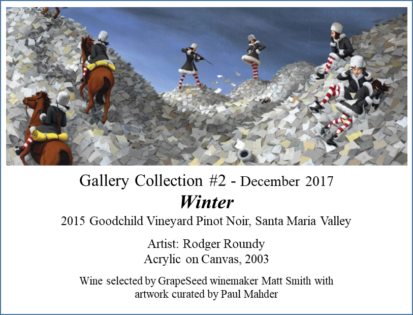 2015 Gallery Collection, Winter, Santa Maria Valley Pinot Noir