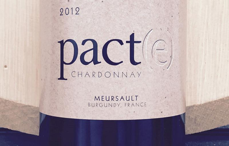 2012 Chardonnay Pact(e) Meursault